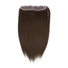 Grade 10A-12A Straight 100% Human Hair Virgin Hair Clip Hair Weft Extensions Remy Hair