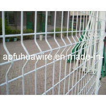 Galvanized and PVC Coated Wire Mesh Fence