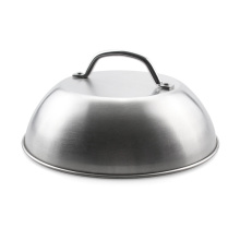 """9"""" Stainless Steel Burger Cover"""