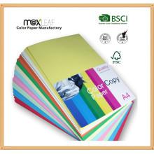 80GSM Цветная бумага для бумаги для бумаги с размером Letter Letter