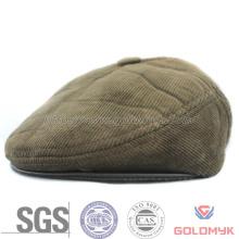 Men′s Corduroy Fabric Winter IVY Cap