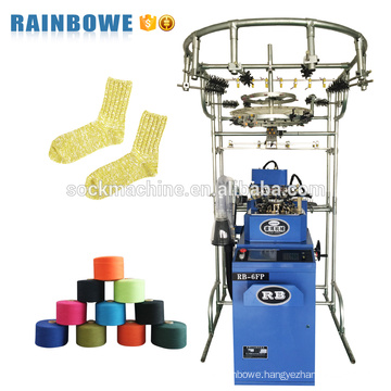 rb automatic small computer jacquard custom sock producing equipment to making socks
