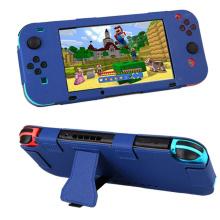 Full Body PU Leder Schutzhülle Hülle für Nintendo Nintend Joy-Con NS NX Konsole Controller Spiel