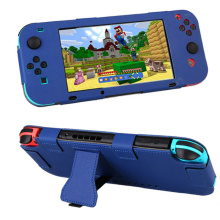 Full Body PU Leather Protective Case Cover Skin Sleeve for Nintendo Nintend Switch Joy-Con NS NX Console Controller Game