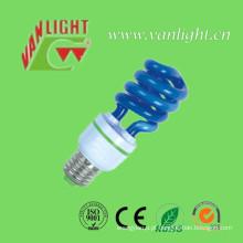 T3 Cor lâmpada azul Xt (VLC-CLR-HS-série-B), lâmpada de poupança de energia