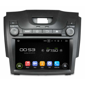 7.1 System Car DVD Player For Cheverolet S10 2013 D-MAX