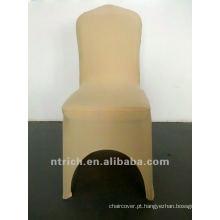 tampa da cadeira de champanhe lycra, CTS869, apto para todas as cadeiras casamento, banquete, capa de cadeira hotel, sash e mesa pano