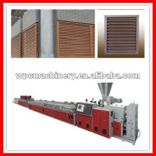 wpc shutters extrusion machine