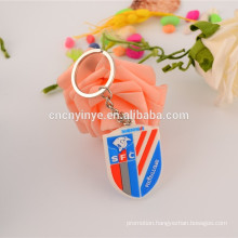 Hot sell cheap rubber 3D key ring