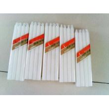 Bougies religieuses de bâton blanc en gros / bougie de bâton de mèche