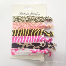 Vente en gros de cravates imprimées élastiques Foe (HEAD-326)
