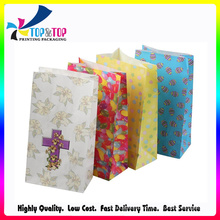 Colorful Simple Paper Gift Bag with Cheap Price