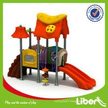 PVC Coated Pipe Kids Play Équipement de parc avec acier galvanisé Qualité de matière garantie