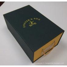 La boîte à chaussures / boîte à chaussures / boîte à chaussures artisanale (mx-099)