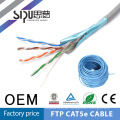 Fabricantes de cable sólido de cat5e de SIPUO profesionales ftp 4P