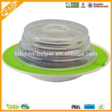 BPA-freie Fabrik-Preis-Nahrungsmittelgrad-Non-stick Silikon-Saugplatten-Deckel