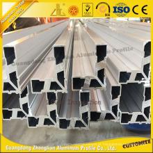 Ângulo de extrusão de alumínio igual OEM para perfil de alumínio Industrial