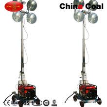 Torre de luz móvil portátil del motor diesel Mo-5659