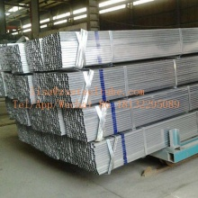 Hot mencelupkan Galvanizing Square dan Rectangular Tube Pipe