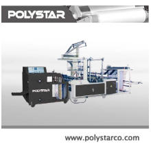 Machine for making bag on roll films