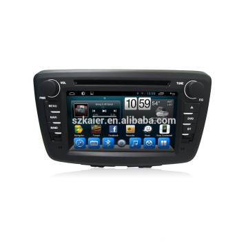 Mejor precio 2din 7 '' Pantalla táctil Suzuki Baleno 2015 2016 Reproductor de DVD del coche Sistema de navegación con Wifi BT Radio GPS