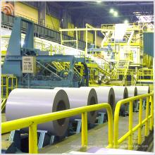 Panel de acero de color RAL9016 Blanco de tráfico Al-Zn Bobina de acero recubierta de color PPGI PPGL