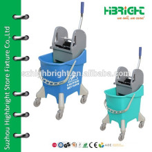 cleaning mop trolley