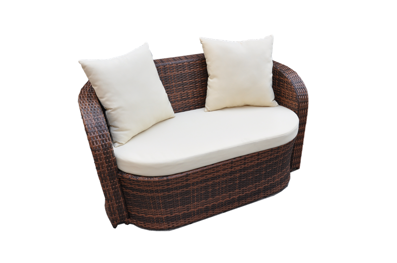 S0213 Wicker Loveseat