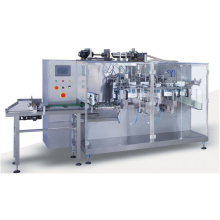 Horizontal Automatic Filling Machine for Liquid and Powder Materials