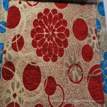 Tipos suramericanos de la tela de tapicería del Chenille del estilo del poliéster 100%