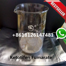 Standard de Zaditor CAS 34580-14-8 de poudre de fumarate de kétotifène de pureté de 99,50%