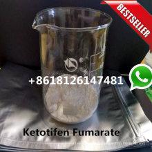 99.50% Очищенность порошка Zaditor Кетотифен Фумарат КАС 34580-14-8 ЕР Стандарт