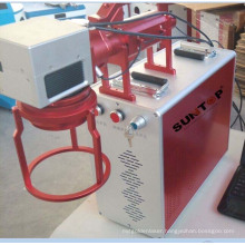 High Speed 20 Watt Mini Hand-Held Portable Fiber Laser Marker for Big and Heavy Parts Marking