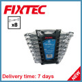 Fixtec Hand Tools Carbon Steel Double Open End Spanner Set
