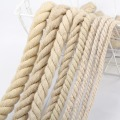 Twist 4mm colored cotton rope DIY decoration rope