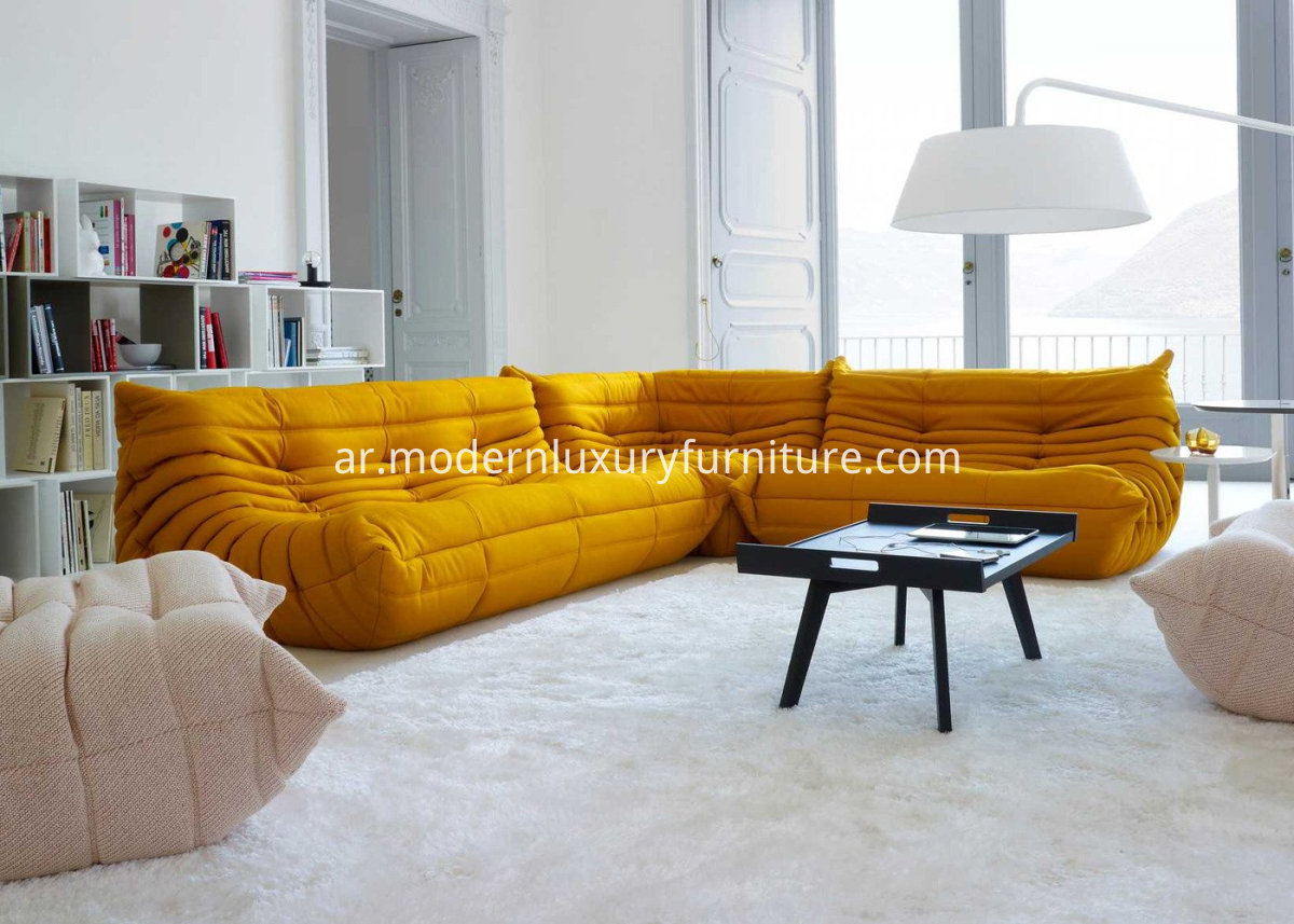 A-Series-of-Fabric-Togo-Sofa-Set-Original