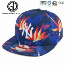 2017 alta qualidade digital de impressão de tela esportes snapback cap com logotipo do bordado