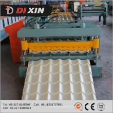 Dx 1100 Glazed Tile Roll formando máquina China Fabricante 2015