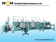 GER used engine diesel hydraulic base oil regeneration system