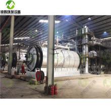 Атмосферный процесс дистилляции сырой нефти.