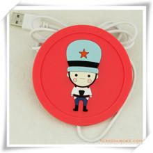 USB Heat Coaster / Cup Mat para la promoción
