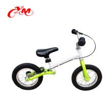2016 горячий продавать 12-дюймовый белый мини баланс велосипед/высокое качество воздуха в шинах детей первый велосипед/V тормоза 2 колеса малыша велосипед для продажи
