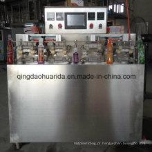 A máquina de embalagem do saco da palha / máquina de embalagem de Doypack / levanta-se a máquina de enchimento do suco do malote