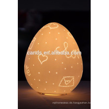 Ei Form Tisch Keramik Lampe