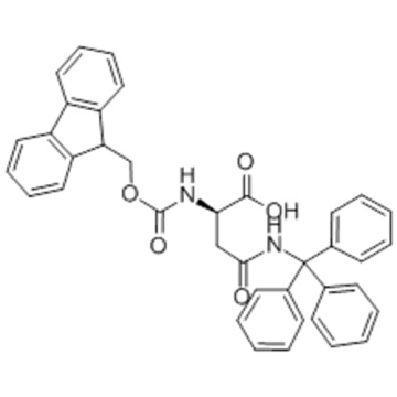 Name: D-Asparagine,N2-[(9H-fluoren-9-ylmethoxy)carbonyl]-N-(triphenylmethyl)- CAS 180570-71-2