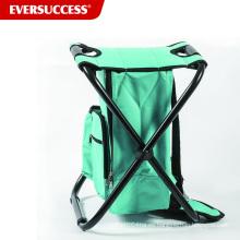 Backpack Cooler Chair Taburete plegable ligero y portátil compacto - Perfecto para eventos al aire libre, viajes, senderismo, camping, Ta