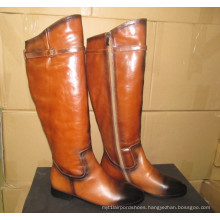 Latest Design Fashion Knee Boots (Hcy02-1129)