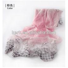 Forme a mujeres promocionales 100% las bufandas / los mantones / Hijab del poliester, W3015