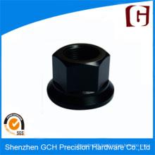 Black Anodized Screw Head Custom Aluminum Parts