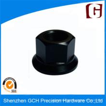 Cabeça de parafuso anodizada preta Custom Aluminum Parts